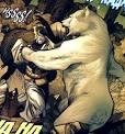evil ninja polar bear
