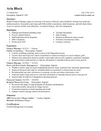 view resume examples best finance manager resume example livecareer create my resume