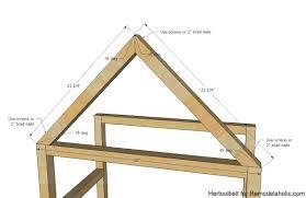 remodelaholic diy house frame bookshelf plans