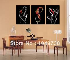 contemporary decoration dining room paintings cool inspiration