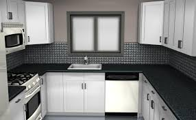black white and red kitchen design ideas 6572 baytownkitchen cool black and white kitchen with black countertop