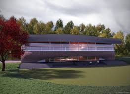 House Architectural Glade House U2013 Architectural Rendering James Cracknell