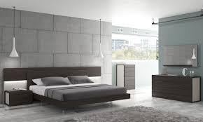 Modern Bedroom Furniture by Dark Brown Cubical Nightstand Contemporary Modern Bedroom