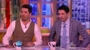 How To Get On Property Brothers by Property Brothers Jonathan And Drew Scott On U0027the View U0027 The View