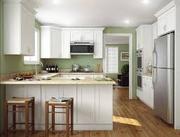 kitchen honcey unfinished shaker kitchen cabinet with mosaic