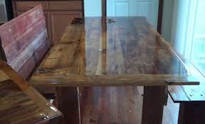 How To Build A Barn Wood Dining Table And Bench YouTube - Barnwood kitchen table