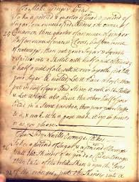 gingerbread writing paper tales from the archives english gingerbread old and new the eighteenth century