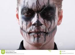 Halloween Male Makeup Man Halloween Stock Photo Image 58470383