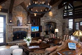 Home automation Mountain Multi vision and Sound Custom mountain home whole home automation by Elan  Sony