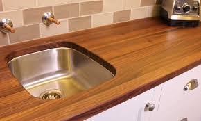 home mcclure block butcher block and hardwood kitchen counter