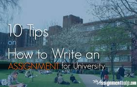 Help writing university assignments   University assignments