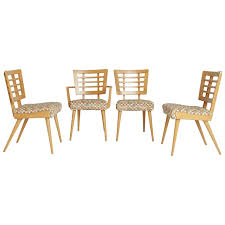 1950s american modern maple dining chairs for sale at 1stdibs
