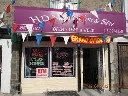 hd nail salon u0026 spa grand opening advance to go llc