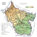 Judetul Buzau - Harta Romaniei