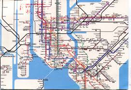 Subway Nyc Map by New York City Subway Map Remembering Letters And Postcards