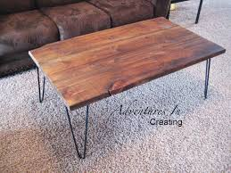 Diy Simple End Table by Remodelaholic Build A Modern Coffee Table And Matching End Tables