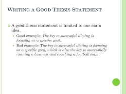 Examples Of Good Thesis Statements For Essays On Success Examples Of Good Thesis Statements For Essays On Success image