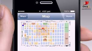 chirpe native mobile app for ios and android interactive floor