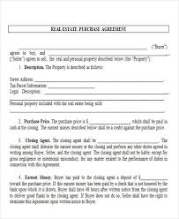 44 printable agreement forms