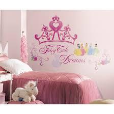 wall decals wayfair deco disney princess crown giant decal loversiq