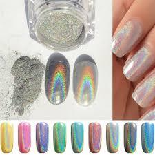 phantomsky nail art glitter shining magic mirror chrome nail