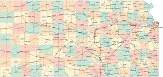 Map Of Cities In Usa by Kansas Cities Map Usa