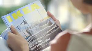 ad of the day ikea hilariously pitches its 2015 catalog as the