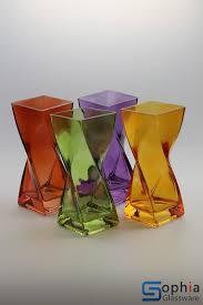 Decorative Glass Vases Colored Glass Vases Scp009 Sophiaglassware Com Glass Vase