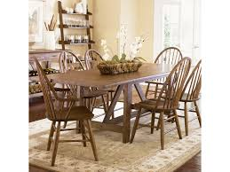 liberty furniture farmhouse trestle table novello home
