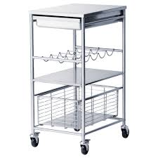 kitchen islands carts ikea grundtal kitchen cart stainless steel length 21 1 4