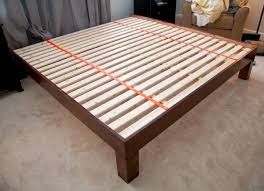 King Platform Bed Plans With Drawers by Best 25 King Bed Frame Ideas On Pinterest Diy King Bed Frame