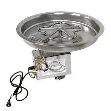 Fire Pit Burner by Hpc Penta Bowl Burner With Hwi Electronic Ignition Fire Pit Kit