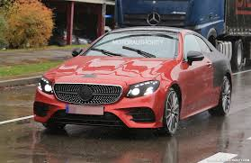 2018 mercedes benz e class coupe spy shots and video