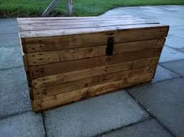Rustic Wooden Bench With Storage Rustic Storage Trunk Bench Hope Chest Handmade From Reclaimed Wood