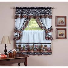 Elegant Kitchen Curtains by Fascinating Kitchen Curtains Walmart Awesome Kitchen Remodeling