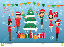 workplace christmas party fun clipart clipartfest