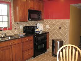kitchen marvellous horizontal small stripe diagonal tile
