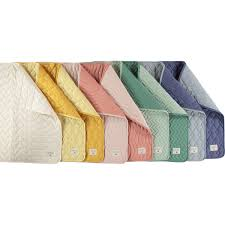 couverture coton bio couverture en coton biologique jaune moutarde 70 x 70 cm nobodinoz