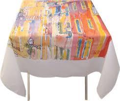 nappe ronde enduite 160 les nappes motifs provençaux imprimées