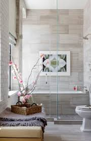 best 25 tile tub surround ideas on pinterest how to tile a tub holiday house hamptons 2014 bathroom same large tiles for walls and floor but broken up my small mosaic tiles in the shower pan