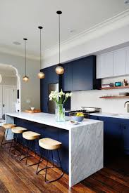 best 25 navy blue kitchens ideas on pinterest navy cabinets kitchen design idea deep blue kitchens