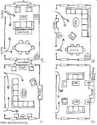 furniture arranging one room u003e 12 ways living spaces