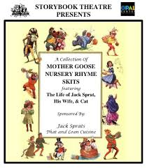 Cottage Grove Theater by Sbt Mother Goose Nursery Rhyme Opal Center For Arts U0026 Education