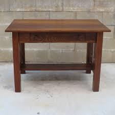 american antique arts and crafts desk antique craftsman desk