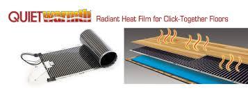 heated floors under laminate radiant floor heating electric in floor heat radiant floor