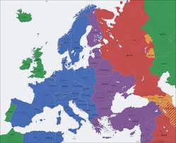 Western Europe Political Map by Europe U0027s Time Zones And Daylight Saving Systems Are A Total Mess