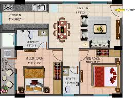 900 Sq Ft Floor Plans by 2 Bedroom House Plans Vastu April 2015 Kerala Home Design And