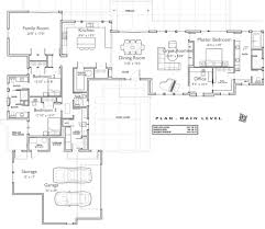 contemporary style house floor plans