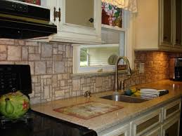 pebble backsplash pebble backsplash tiles kitchen rock backsplash