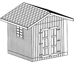 10x20 saltbox wood storage garden shed plans 26 styles gable